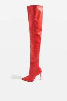 4cfde287522 BABETTE High Leg Boots - Heels - Shoes - Topshop USA High Leg Boots