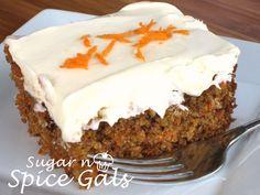 Best Carrot Cake Ever - Sugar n' Spice Gals