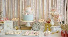 Pastel Cinderella 4th Birthday Party - Bella Paris Designs