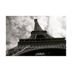 """Eiffel Tower Gallery Wrapped Canvas - 16x20"""""""
