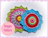 Rosette (Images) Crochet Pattern Couple