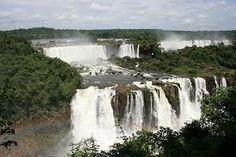 Foz do Iquacu where Brazil, Paraguay and Argentina meet