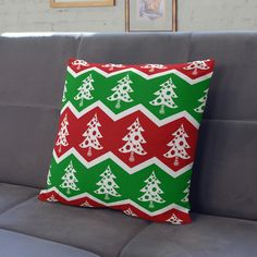 Christmas Tree Pillow   Christmas Decoration   Christmas Pillows   Christmas Pillow Cover - Throw Pillow Cover   14x14   16x16   18x18 by wfrancisdesign on Etsy https://www.etsy.com/au/listing/275267118/christmas-tree-pillow-christmas