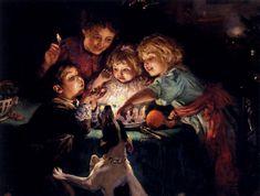 Arthur John Elsley ~ Snapdragon, c.1894