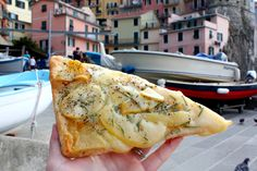 Potato and Rosemary Focaccia in Manarola - 6 Local Foods to try in Cinque Terre, Italy