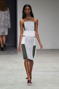 Calvin Klein New York Fashion Week Spring 2014 - Best New York 2014 Runway Fashion - Harper's BAZAAR