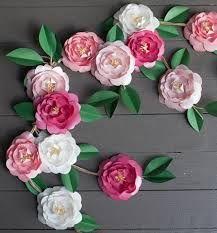 Resultado de imagen para paper flower