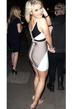 Sam Faiers in this gorgeous Strappy Bandage Dress
