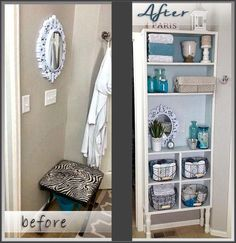 Master Bath Built In Master Bath, Shelving, Upcycle, Diy Projects, Bathroom, Storage, Building, Furniture, Home Decor
