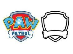Paw patrol svg, Paw patrol dxf, cartoon svg, paw patrol logo svg, dxf, cricut, silhouette cutting file, download