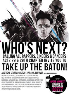 Calling All Rappers, Singers & Dancers... 29th Chapter Are Looking For YOU!!!.jsp