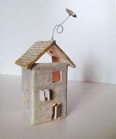 Tealight House Stoneware by lofficina