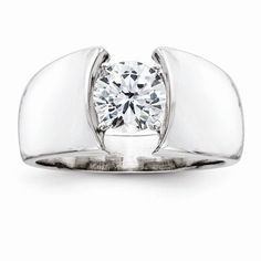 Obliging 0.95 Cts 18k White Gold Three Stone Diamond Engagement Ring Setting In Many Styles Engagement & Wedding