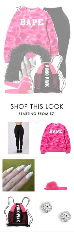 """""""BAPE"""" by itsdejjj ❤ liked on Polyvore featuring A BATHING APE and Victoria's Secret"""
