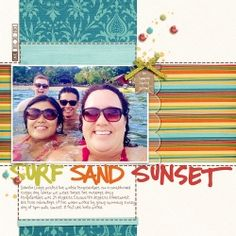 Surf Sand Sunset