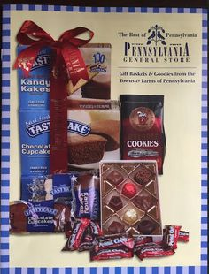 Did you receive our latest catalog of gift baskets and goodies in the mail? It's enough to make your mouth water!