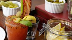 Bourbon and Spicy Condiments Combine For the World's Greatest Bloody Mary: Mixologist David Castagnetti of Firefly in Studio City, CA, has done bourbon-lovers a serious service by creating a Bloody Mary starring the American spirit.