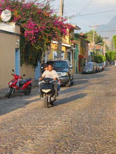 Lots of ways to get around in Ajijic, Mexico.