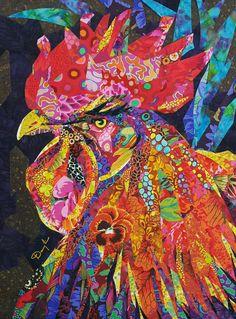 rainbow cock-a-doodle-doo