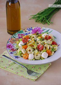 Dieta semanal con recetas de ensaladas saludables...