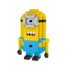 WLtoys Minion Toy Block 205 Pcs Educational Toy 6628... £1.76