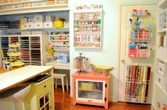 Hand to Paper: HGTV............SAY WHAT.....THAT'S MY CRAFT ROOM------ REGINA EASTER's featured in March 2014 magazine