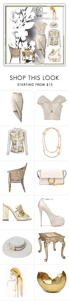 """""""jasinta-3620"""" by jasintasss ❤ liked on Polyvore featuring Élitis, LE3NO, Alice McCall, Versace, Chanel, Home Decorators Collection, Chloé, Gucci, Giuseppe Zanotti and Universal Lighting and Decor"""