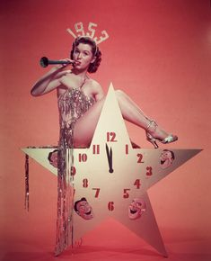 Debbie Reynolds 1953 New Year's Eve