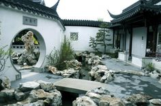 classic chinese courtyard home - the dream of having all my family round about but still having my own space