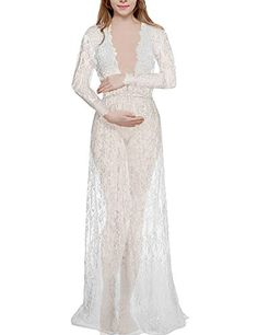 Linsposa sexy long sleeve bridal gown