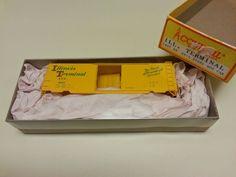 ACCURAIL # 3407 ILLINIOS TERMINAL 40' PS-1 40' STEEL BOXCAR NEW #Accurail On eBay!