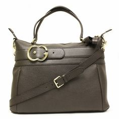 Gucci 336662 Broadway Brown Leather Shoulder Bag