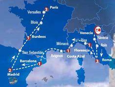 Oferta de viaje a Italia. Entra, informate y reserva el viaje Circuito de 15 dias Europa para Todos Inicio en Venecia y Final en Paris