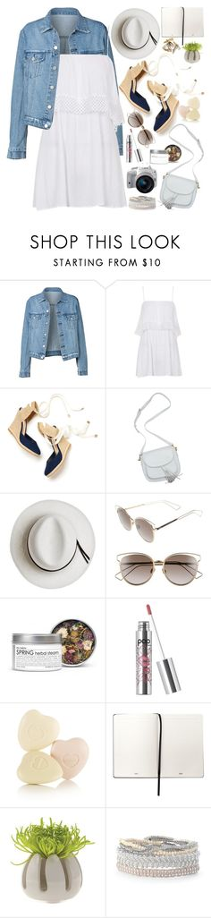 """When I feel afraid, I open my hearth and let the love dissolve the fear."" by martinabb ❤ liked on Polyvore featuring Topshop, Calypso Private Label, Christian Dior, Fig+Yarrow, Pop Beauty, Eos, Clips and Stella & Dot"