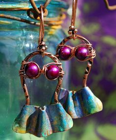 ❥ Island Girl Earrings by Melinda Orr~ is that the cutest thing!!!!!!