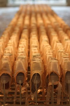 a legion of pointe shoes