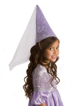 Renaissance Princess Medieval Cone Hat 3-9 years ~Fair Maiden