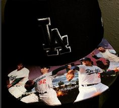 6310691d769 Los Angeles Dodgers Authentic New Era Snapback or Fitted Cap with Custom
