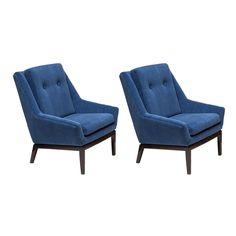 Vintage Mid-Century Modern Markham Chairs Set