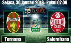 Prediksi Bola Ternana vs Salernitana 30 Januari 2018. Prediksi Bola Menyajikan Informasi Hasil Skor Akhir Pertandingan kedua tim dari seluruh game.