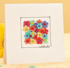 Celebrate Flower Card by @Anna Totten Anderson Crockett