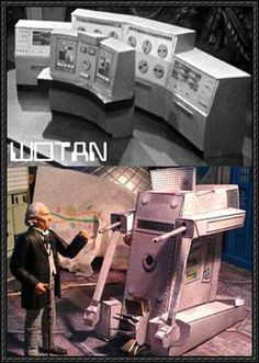 Doctor Who - WOTAN and War Machine Free Paper Models Download