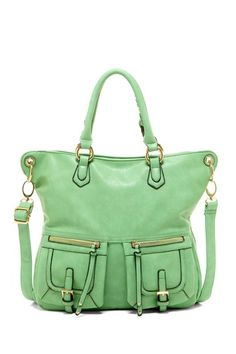 Urban Expressions Carter Pocket Front Handbag on HauteLook