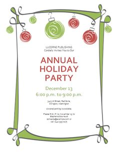Free Christmas Party Templates Invitations Extraordinary Holiday Party Invite Templates  Google Search  Work Stuff .