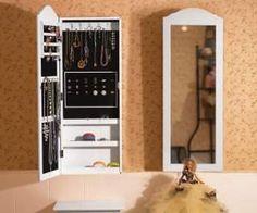 idee regalo originali per la casa portagioie da parete con specchio