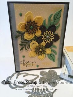 Botanical Blooms by Stampin' Up!   Faith. Grace. Stamp. with Jen Guarino