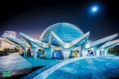 Tehran's Planetarium - The largest 3-D planetarium in the Middle East called Gonbad-e-Mina (Dome of Mina), IRAN