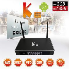 72.18$  Watch more here - http://aidbc.worlditems.win/all/product.php?id=32796560987 - K6 TV Box Amlogic S812 Android 5.1.1 set tv box Quad-core 2.4GH/5GHz wifi ram 2GB/rom 8GB Media Player Set top box PK T95 TV BOX