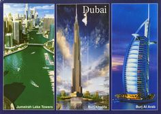 World on Postcards: United Arab Emirates / Zjednoczone Emiraty Arabskie