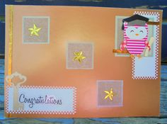 Graduation Key handmade card graduation card by RogueKissedCraft Owl Card, Pink Owl, Graduation Cards, Gold Stars, Etsy Store, Congratulations, Awesome, Unique Jewelry, Handmade Gifts